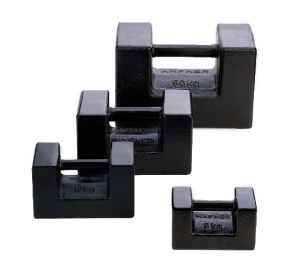 Cast Iron Test Calibration Service Weights