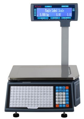 Barcode Label Printing Weighing Scale - Pole Type