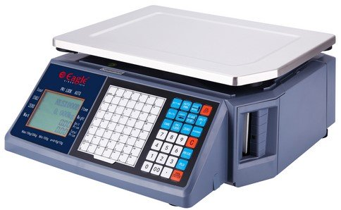 Barcode Label Printing Weighing Scale - Rear Type