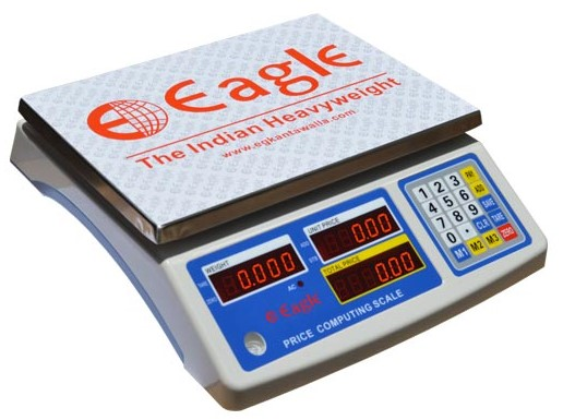 Price Computing Weighing Scale - Rear Type